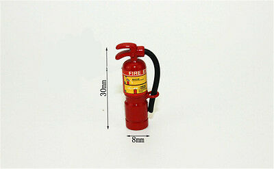 1:12 Scale Red Fire Extinguisher Dolls House Miniature Accessories W/