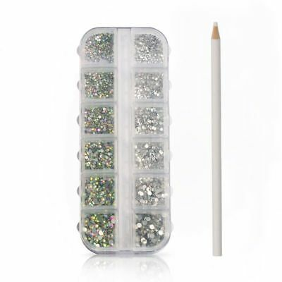 Non Hotbed Rhinestones Silver Crystal Glue  For Sheet On DIY  Fashion Bags Cover