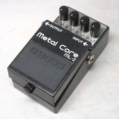 BOSS ML-2 Metal Core Used Guitar Effect Pedal F/S
