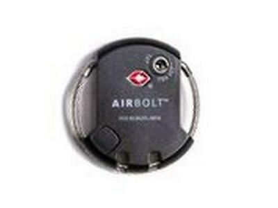 AirBolt smart travel lock with tracking and app control - Cape Cod Grey