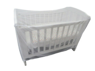 Sweet Dreams Cot Insect Net - White