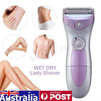 Women Electric Shaver Ladies Razor Rechargeable Leg Hair Remover Removal Dry Wet
