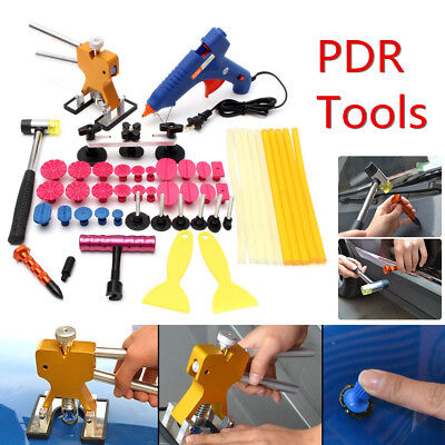 PDR Paintless Repair Hail Hammer Removal Glue Gun Tool Dent Puller Lifter Kit