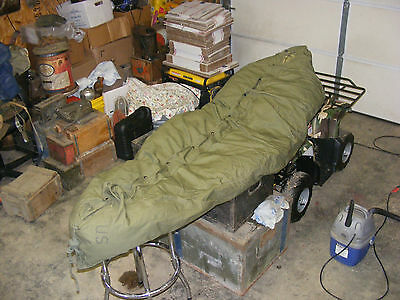 Vintage US Military World War II? Sleeping Bag M-1949 & M-1945