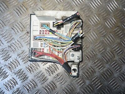 renault megane scenic engine bay fuse box upc8200481866 2003-2008 tested