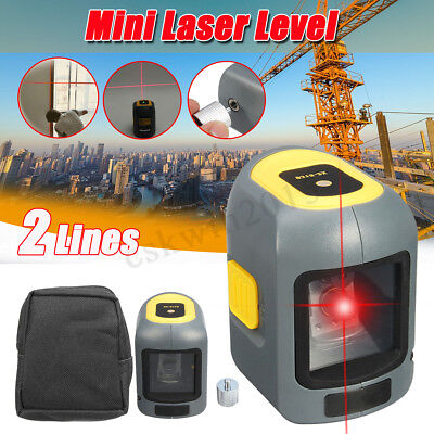 3D Mini Laser Level Self Leveling 2Line Automatic Vertical Horizontal Cross Tool