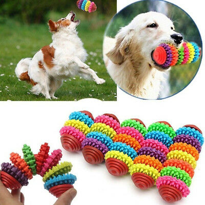 1Pc Rubber Pet Dog Cat Dental Teething Healthy Gums Chew Toys Accessory Hot Sale