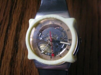 Men's 1980's Swatch Watch #8333-P with Scratch Guard