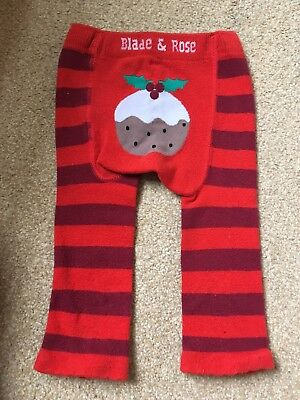 Blade And Rose Christmas Pudding Leggings 1-2 Years