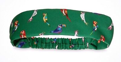 NEW Disney Parks Enchanted Tiki Room Jose Fabric Headband! Dress Shop