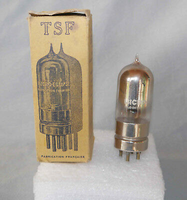 Rare : ancienne lampe tube radio TSF à pointe « Micro Eclipse »