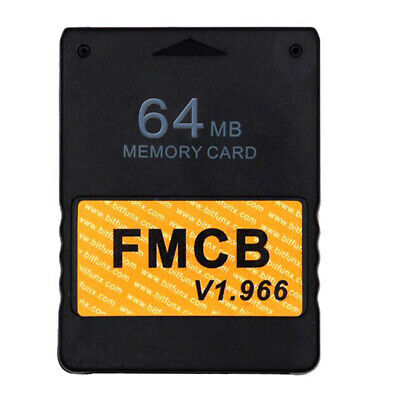 Free McBoot FMCB 64 MB Memory Card for PS2 v1.953