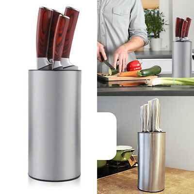 Modern round multiple Knife Block Multi purpose Knife Holder for Kitchen Hot