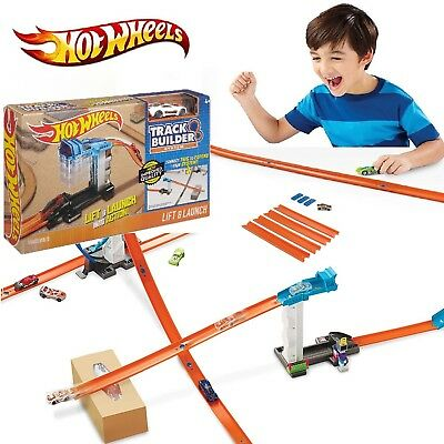 Hot Wheels Track Builder Set Boy Toy Gift Race Car Kids Game Launch Extension
