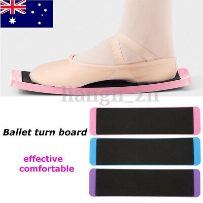 Ballet Practice Dance Board Turn Spin Foot Board Pirouettes Accessory Tool AU