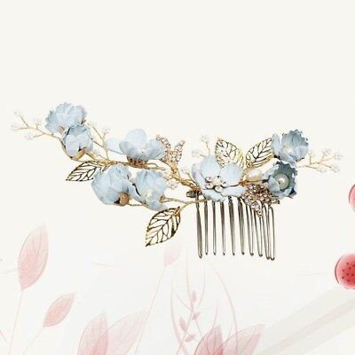 1pcs Bride Hair Combs Elegant Crystal Drill Headdress Hair Accessories for Party