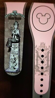 Disney MILLENNIAL PINK HAUNTED MANSION TOMBSTONE Magic Band 2.0 Magicband Parks
