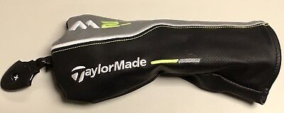 TaylorMade Golf M2 Fairway Wood 3 4 5 7 Headcover M Club Cover  Black Gray Green