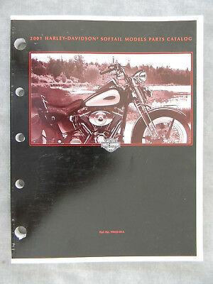 Harley Davidson 2001 SOFTAIL Models PARTS CATALOG  99455-01A