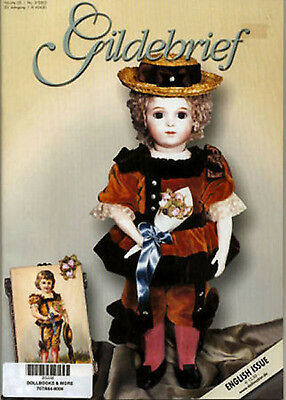 Gildebrief 3-2003 Dollmaking Antique Dress Patterns Bru, AT Steiner Jumeau