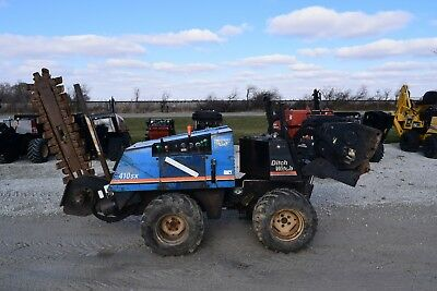 1999 Ditch Witch 410SX Trencher / Cable Plow Bore Attachment Vermeer