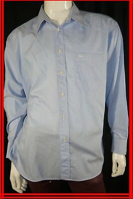 CHRISTIAN DIOR DEGRIFFE Taille XL Superbe chemise manches longues bleue  homme 6528c20cabd