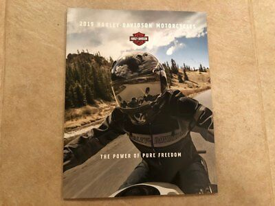 2019 Harley Davidson Genuine Motorcycles Model Brochure Catalog - NEW