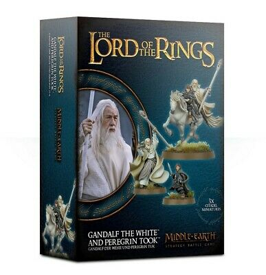 Gandalf The White & Peregrin Took Games Workshop Brand New 99121499037