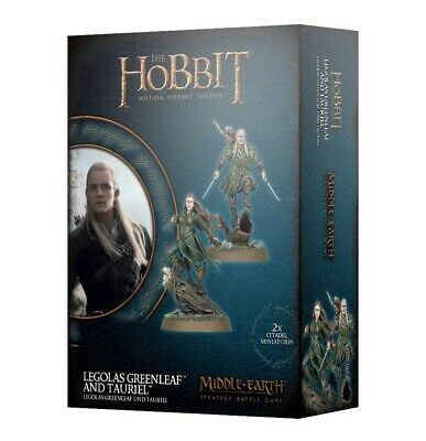 Legolas Greenleaf And Tauriel Games Workshop Brand New 99121463011