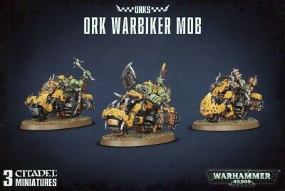 Ork Warbiker Mob Games Workshop Brand New 99120103057