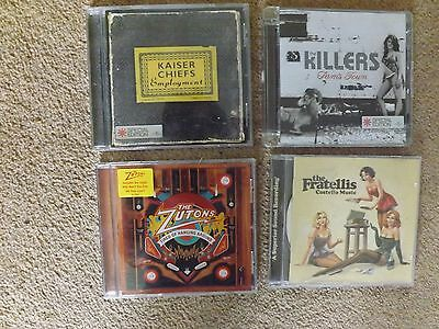 4 x CD'S-THE FRATELLI'S, THE KILLERS, THE ZUTONS, KAISER CHIEFS