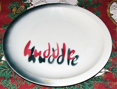 1956 Syracuse China Dinner Plate HUDDLE Restaurant...RARE..California..10-kk