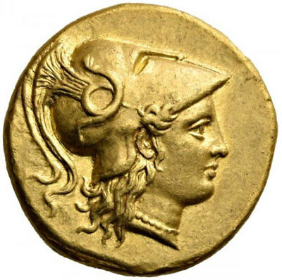 ALEXANDER III the GREAT of Macedonia 323BC Authentic Ancient Gold Stater Coin