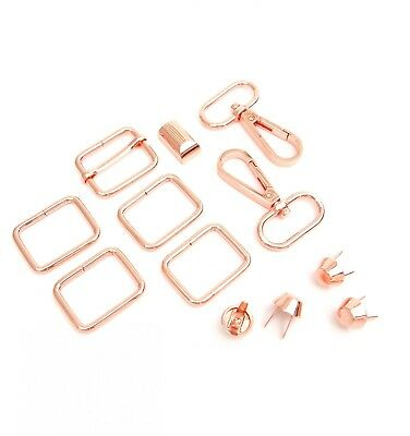 DAPHNE BAG HARDWARE KITS *Copper* Use on Bags & Totes From Sallie Tomato