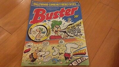 UK Comic Buster 30th April 1988 Good condition. Very rare and collectible