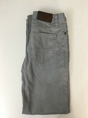 Polo Ralph Lauren Boys Pants Chinos Trousers Light Grey Age 12 Years