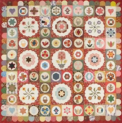 ANTIQUE SAMPLER QUILT QUILTING PATTERN From Sue Daley Designs NEW