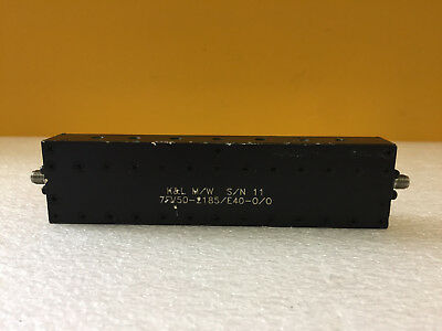 8 Section 25.50 MHz Center Freq K/&L Microwave SMA Bandpass Filter 3 MHz