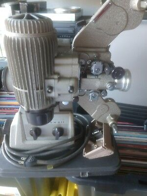 Bell & Howell Model 173 16 Mm Projector With Case