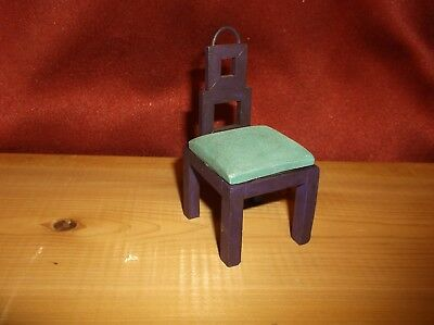 """RAINE by WILLITTS FORM & FUNCTION c. 1999 CHAIR """"TAKE A SEAT"""" DOLLHOUSE"""