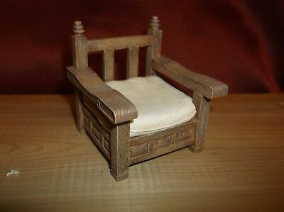 """RAINE by WILLITTS PATIO CHAIR c. 1990 """"TAKE A SEAT"""" DOLLHOUSE"""