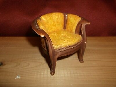 """RAINE by WILLITTS  ART NOUVEAU c 1900 CHAIR """"TAKE A SEAT"""" DOLLHOUSE"""