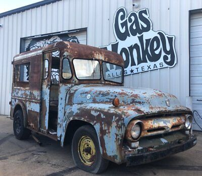 """1956 Ford F100  1956 Ford F-100 """"Milk Truck"""" offered by Gas Monkey Garage *** NO RESERVE***"""