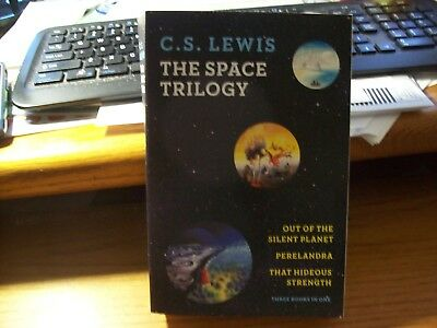 The Space Trilogy, 3 Volumes in 1 By: C.S. Lewis- NEW