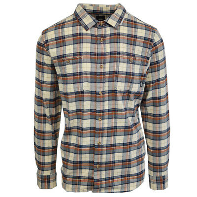 771e83cfaf Vans Off The Wall Natural Sequoia Banfield III L/S Flannel Shirt (Retail  $54.50