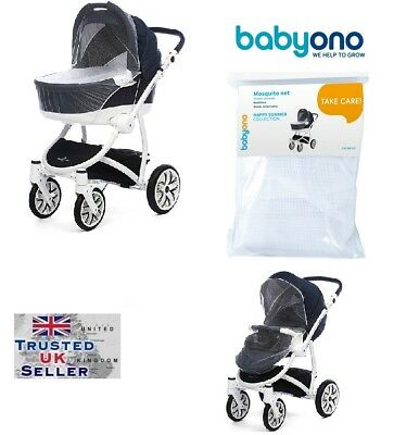 Universal MOSQUITO NET FOR PRAMS STROLLERS Puschair Babyono