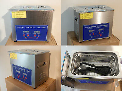 New PS-20A Digital Pro+ 3 litre ultrasonic cleaner with temperature heat control