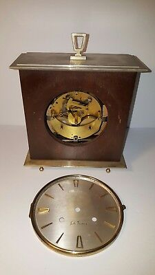 Vintage Seth Thomas A206-000 Used Chime Clock Movement With Face Parts Repair