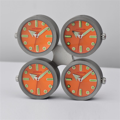 Aragon A022Org 4 Watches In A Drone Style Desk Clock -  Citizen Miyota Movements