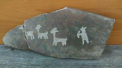 Native American Indian Cave Art Anasazi Pottery Shards possibly Ancient Stone